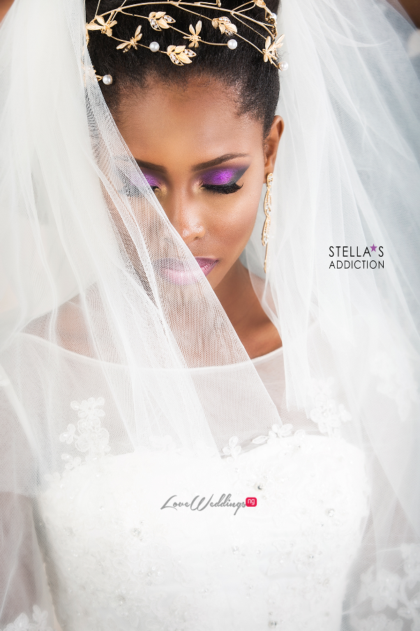Bridal Hair and Makeup Inspiration Stellas Addiction LoveweddingsNG 9