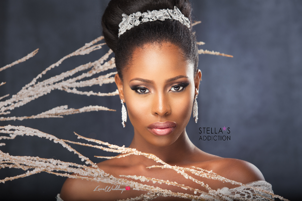 Bridal Hair and Makeup Inspiration Stellas Addiction LoveweddingsNG