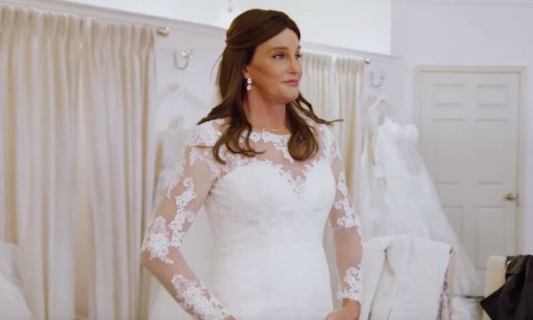 Caitlyn Jenner wedding dress LoveweddingsNG