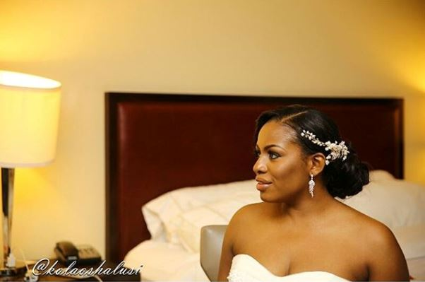 Liz Awoliyi weds Tosin Osho White Wedding LoveweddingsNG 3