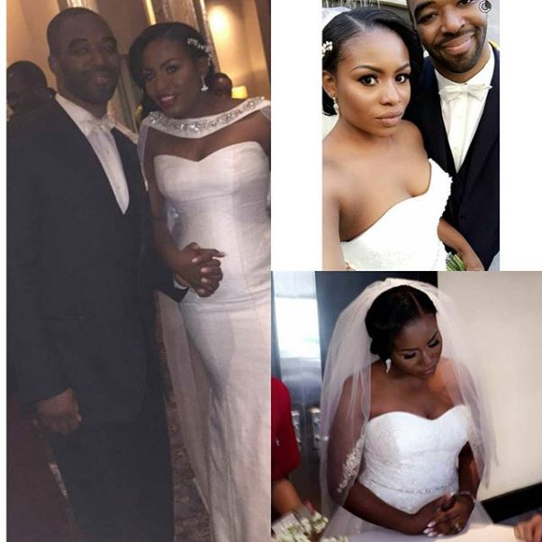 Liz Awoliyi weds Tosin Osho White Wedding LoveweddingsNG 4