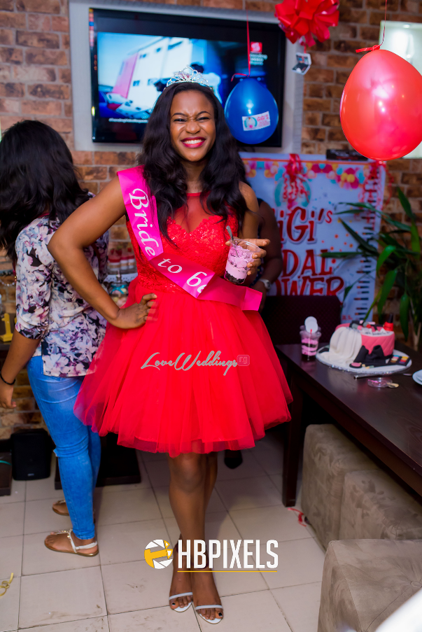 Nigerian Bridal Shower - Ginika Okolie #GiiOkey2016 LoveweddingsNG 11