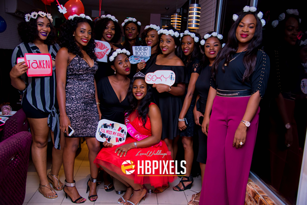 Nigerian Bridal Shower - Ginika Okolie #GiiOkey2016 LoveweddingsNG 9