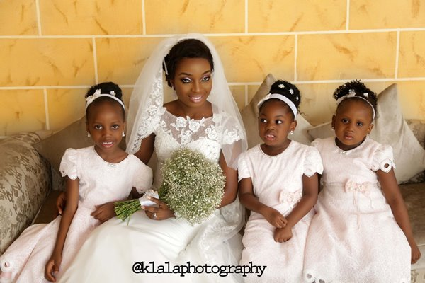 Nigerian Bride and Little Brides - Tosin & Wale LoveweddingsNG Klala Photography