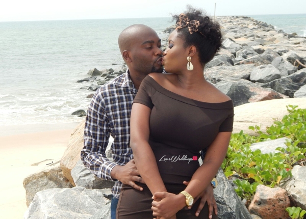 Nigerian Engagement Shoot Aleyie and Itse LoveweddingsNG