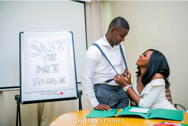 Nigerian Engagement Shoot - Chiamaka and Obinna JGates Visuals LoveweddingsnG 5