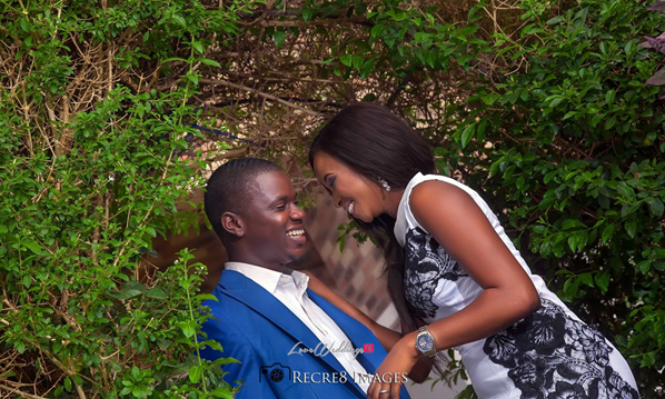 Nigerian Engagement Shoot Laykay Sax and Morakinyo LoveweddingsNG feat