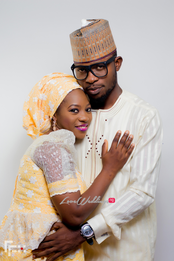 Nigerian Muslim Couple - Bisola and Wale LoveweddingsNG FFX Photography 1