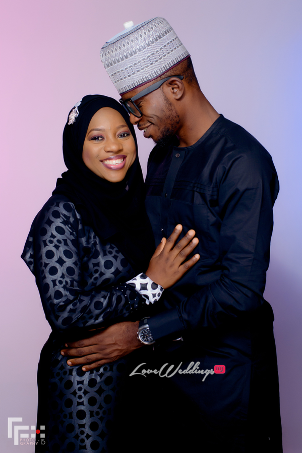 Nigerian Muslim Couple - Bisola and Wale LoveweddingsNG FFX Photography 2