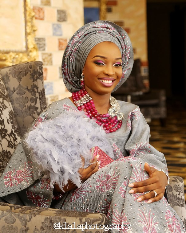 Nigerian Traditional Bride Smile Klala Photography LoveweddingsNG