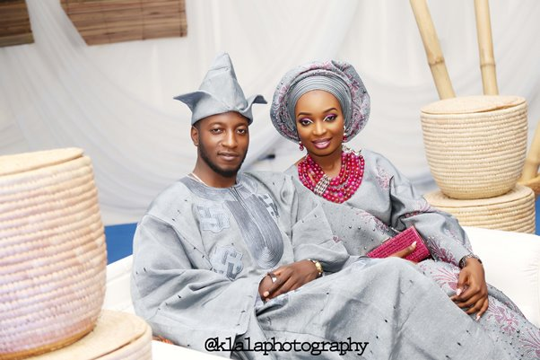 Nigerian Traditional Bride and Groom Klala Photography LoveweddingsNG