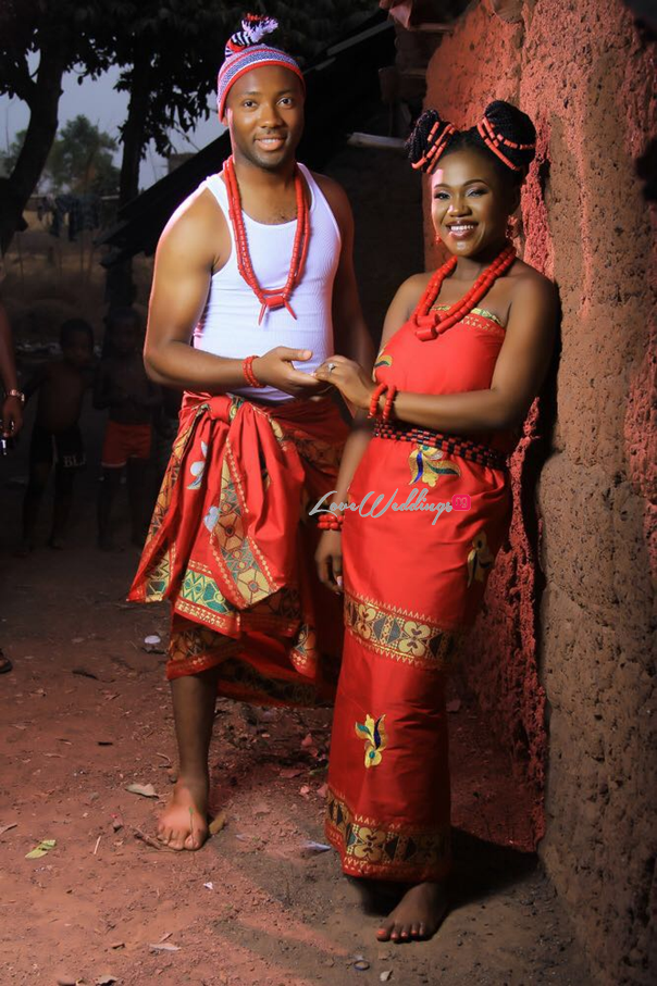 Nigerian Traditional Engagement Shoot #TheChizzys2016 LoveweddingsNG 5