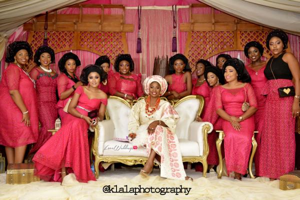 Nigerian Traditional Wedding - Anu & Toye LoveweddingsNG Klala Photography 2
