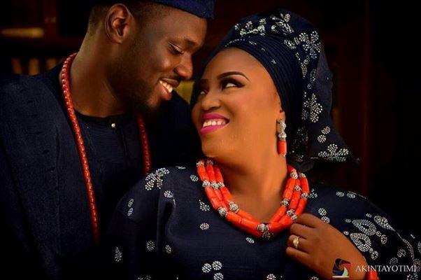Nigerian Traditional Wedding Bride and Groom Ranti and Isaac LoveweddingsNG 2706 Events