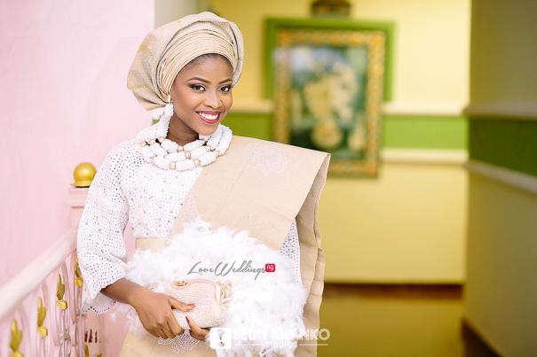 Nigerian Traditional Wedding Folake and Dotun Seun Kilanko Studios LoveweddingsNG Bride 2