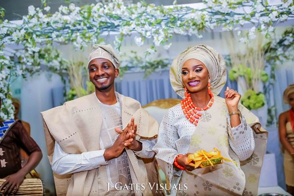 Nigerian Traditional Wedding #MrandMrsChurch Trendybee Events LoveweddingsNG
