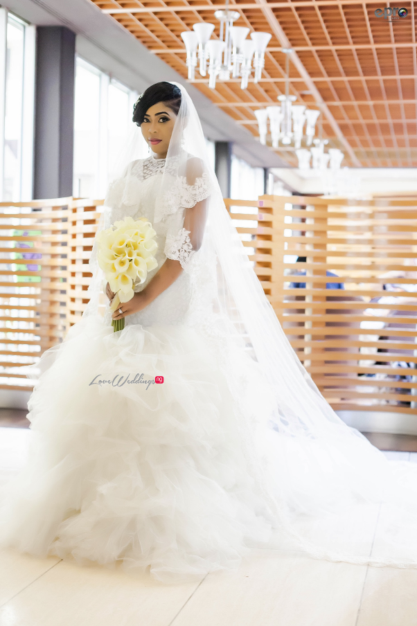 Nigerian Wedding - Joy and Jonathan Brida; Gown LoveweddingsNG