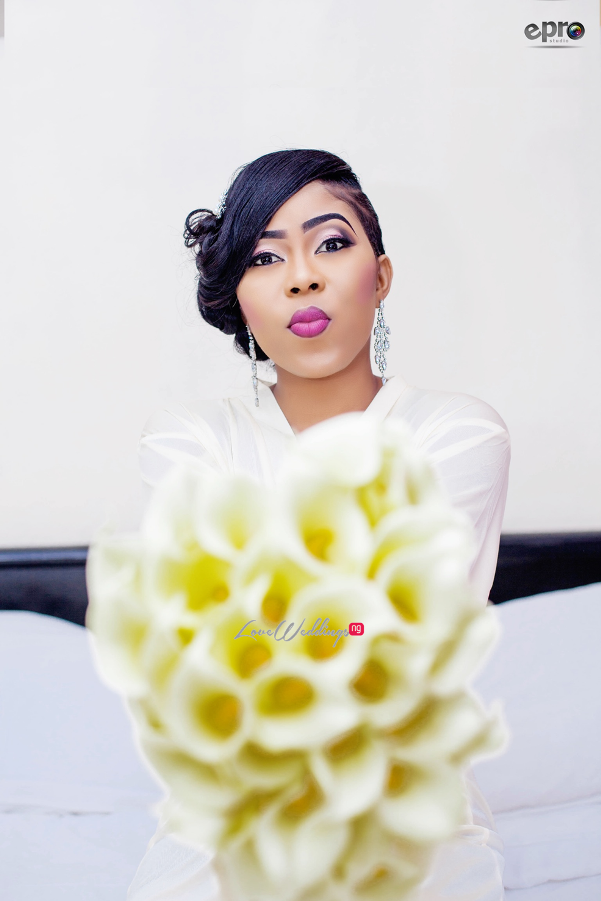 Nigerian Wedding - Joy and Jonathan Bridal Bouquet LoveweddingsNG