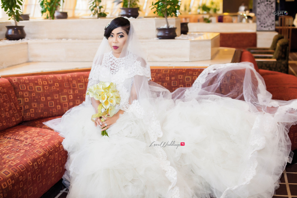 Nigerian Wedding - Joy and Jonathan Bride LoveweddingsNG