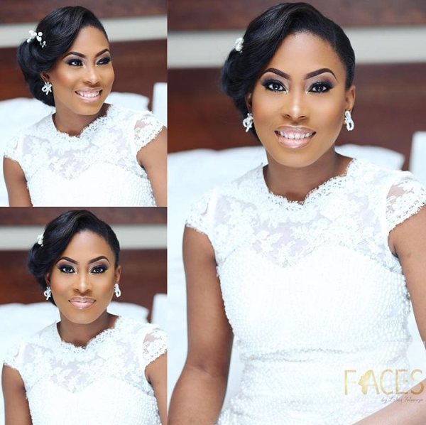 Nigerian Wedding #MeetTheShyngles Adeola and Ayodeji Bridal Makeup Faces by Labisi
