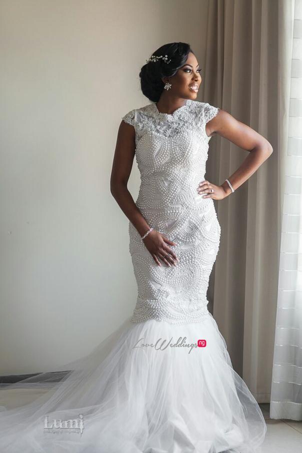 Nigerian Wedding #MeetTheShyngles Adeola and Ayodeji Gown Lanre Da Silva Ajayi