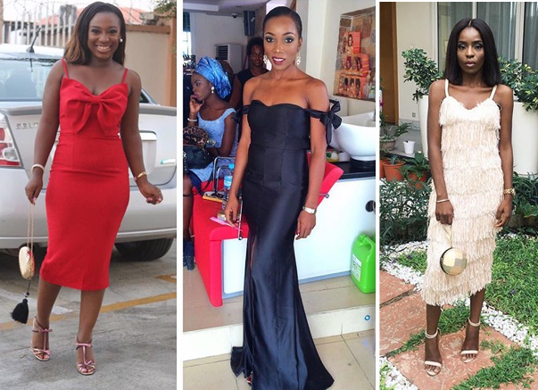 Nigerian Wedding #MeetTheShyngles Adeola and Ayodeji Wedding Guests