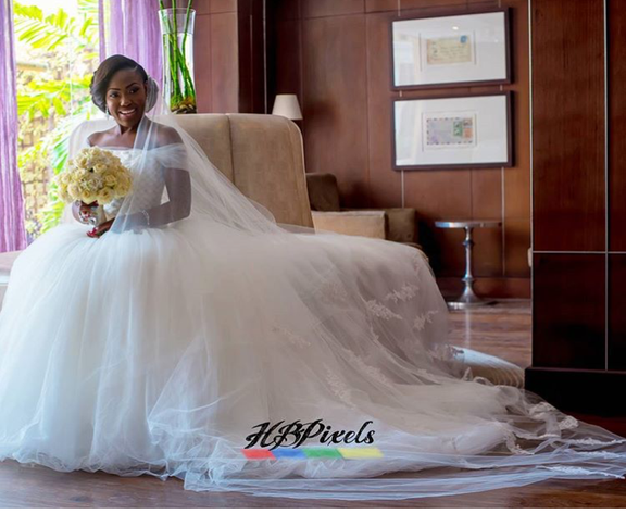 Nigerian Wedding #ThePsalms2016 Bridal Gown Vera Wang LoveweddingsNG