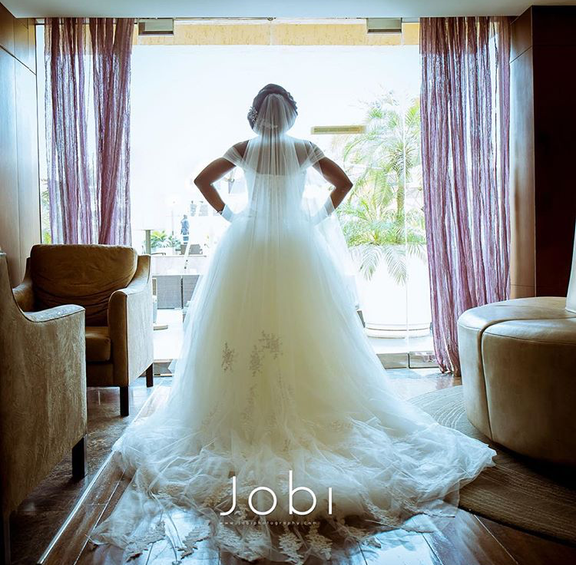 Nigerian Wedding #ThePsalms2016 Bridal Gown Vera Wang LoveweddingsNG1