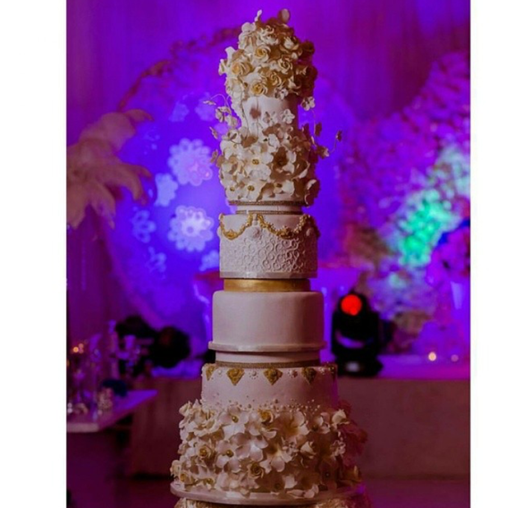 Nigerian Wedding #ThePsalms2016 Cake LoveweddingsNG