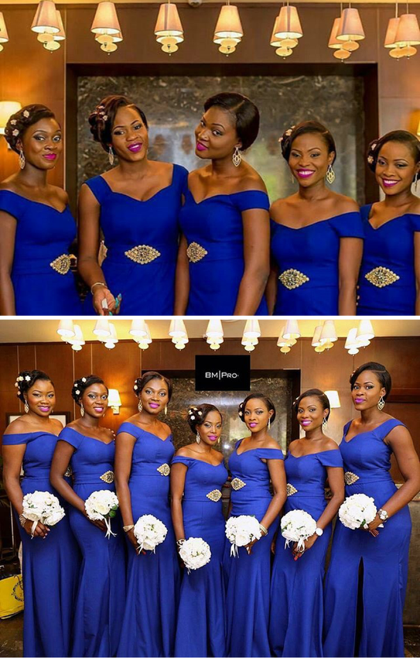 Nigerian Wedding #ThePsalms2016 LoveweddingsNG Bridesmaids 1