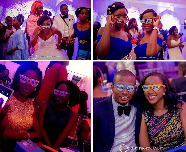 Nigerian Wedding #ThePsalms2016 LoveweddingsNG Glasses