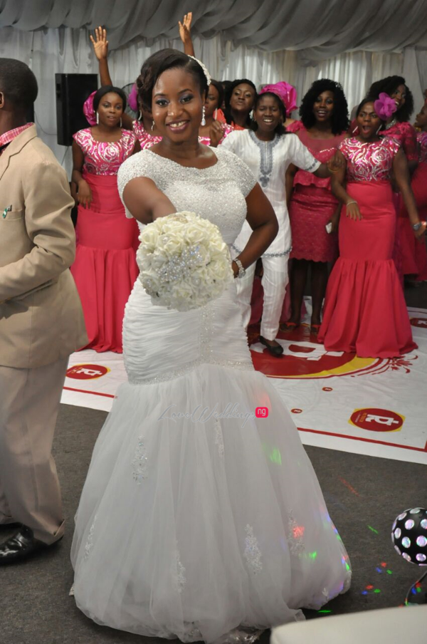 Nigerian White Wedding Aleyie and Itse LoveweddingsNG 1