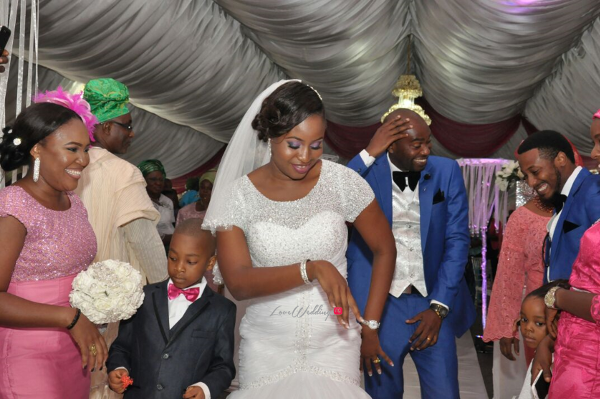Nigerian White Wedding Aleyie and Itse LoveweddingsNG 11