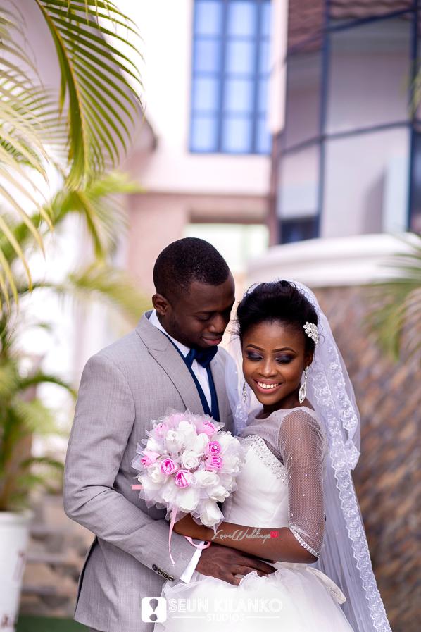 Nigerian White Wedding Folake and Dotun Seun Kilanko Studios LoveweddingsNG 6