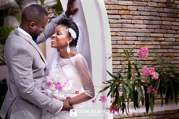 Nigerian White Wedding Folake and Dotun Seun Kilanko Studios LoveweddingsNG 8