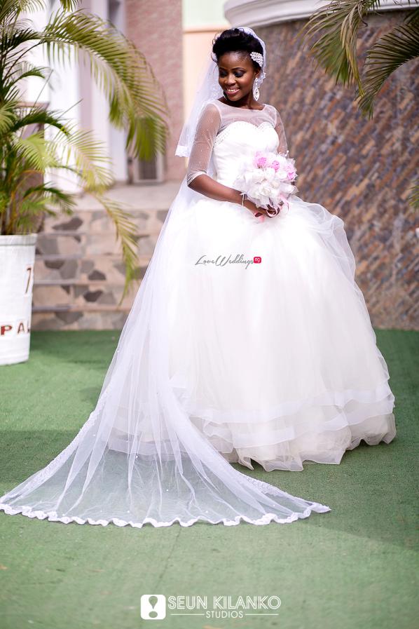 Nigerian White Wedding Folake and Dotun Seun Kilanko Studios LoveweddingsNG Bride