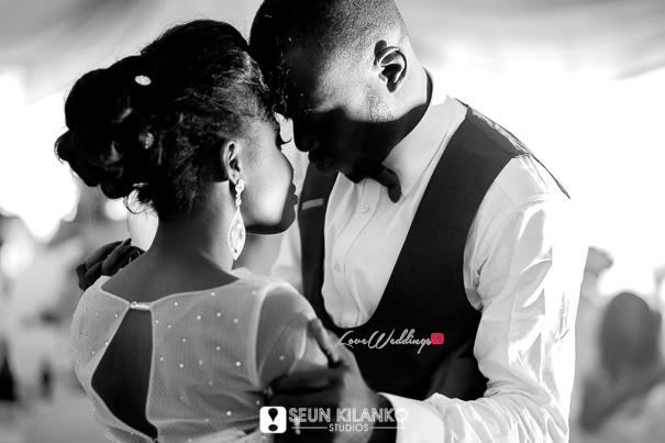 Nigerian White Wedding Folake and Dotun Seun Kilanko Studios LoveweddingsNG First Dance 1