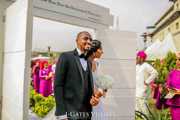 Nigerian White Wedding #MrandMrsChurch LoveweddingsNG Trendy Bee Events 1