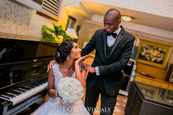 Nigerian White Wedding #MrandMrsChurch LoveweddingsNG Trendy Bee Events 2