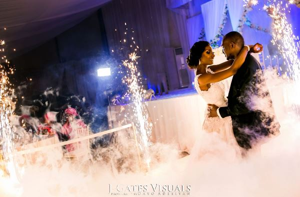 Nigerian White Wedding #MrandMrsChurch LoveweddingsNG Trendy Bee Events 3