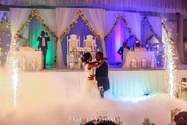 Nigerian White Wedding #MrandMrsChurch LoveweddingsNG Trendy Bee Events 4