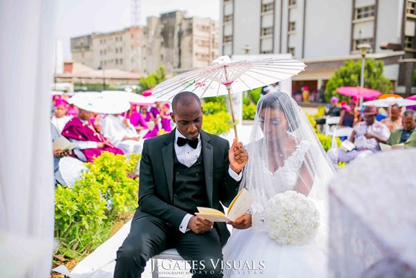 Nigerian White Wedding #MrandMrsChurch LoveweddingsNG Trendy Bee Events