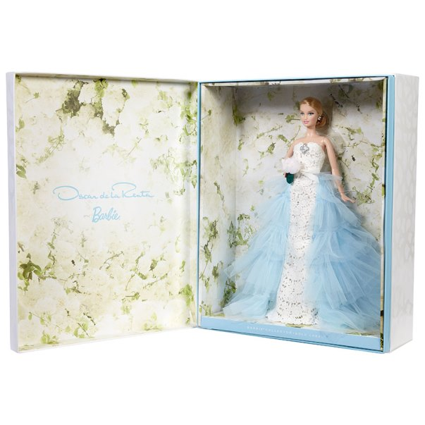 Oscar de la Renta Barbie Bride doll LoveweddingsNG 2