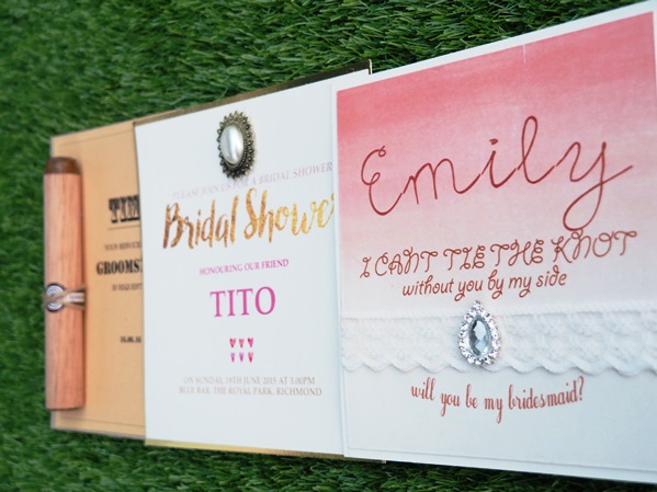 Win Exclusive Pre-Wedding Stationery from The White Card Company (TWCC)