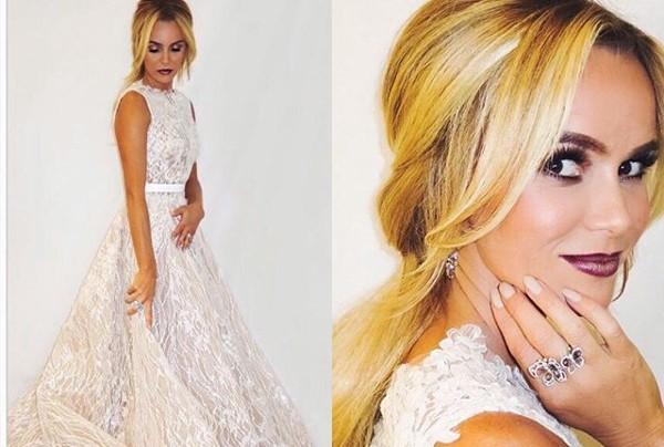 "Britain's Got Talent 2016 Final: Amanda Holden's ""Wedding Gown"""