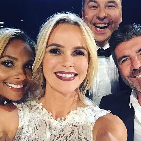 Amanda Holden Britains Got Talent 2016 Final Gown LoveweddingsNG 3