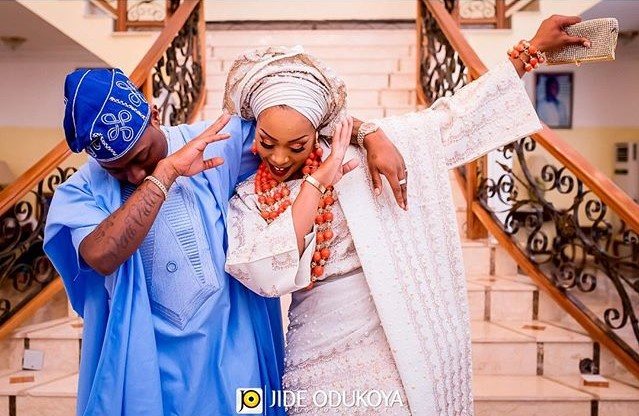 Davido's sister – Coco weds Caleb | Traditional Wedding Pictures
