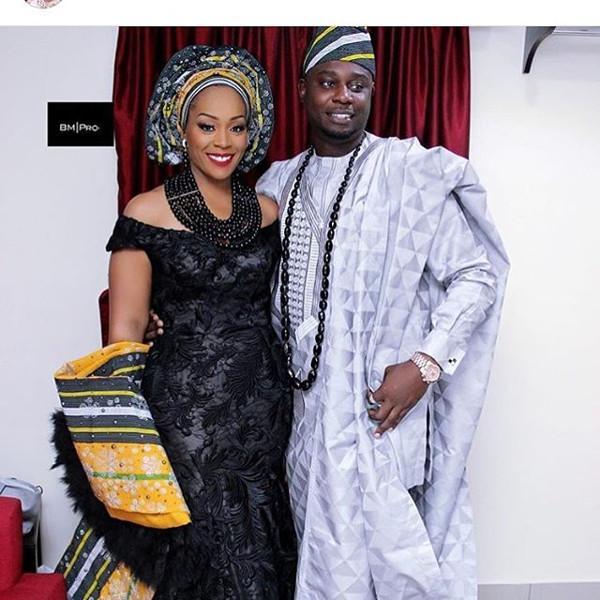 Coco Adeleke Traditional Wedding Outfit Bimmms24 2