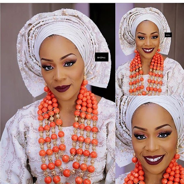 Coco Adeleke Traditional Wedding Outfit Bimmms24 3