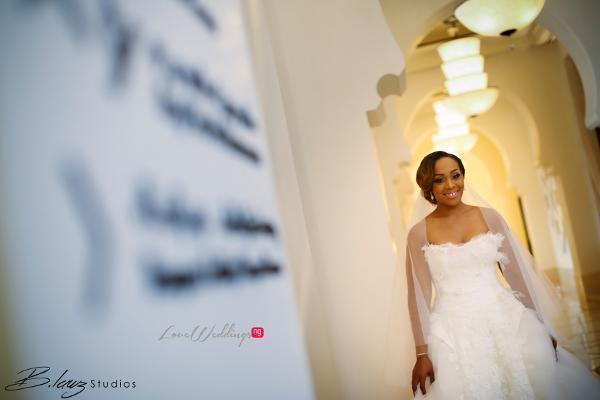 Coco Adeleke and Caleb Adaji White Wedding in Dubai Bride BLawz Studios LoveweddingsNG 1